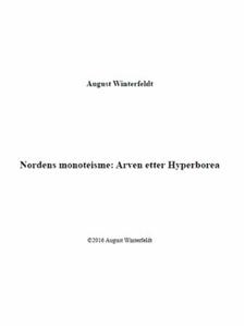Nordens monoteisme (ebok) av August Winterfel