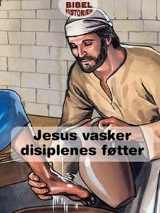 Jesus vasker disiplenes føtter (ebok) av Ukje