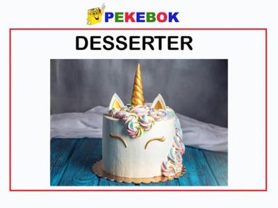 Desserter (ebok) av Ukjent