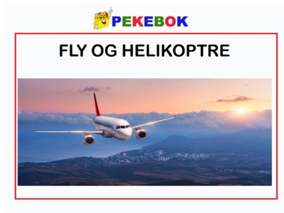 Fly og helikoptre (ebok) av Ukjent