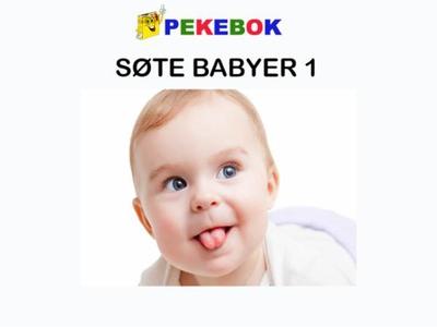 Søte babyer 1 (ebok) av Ukjent