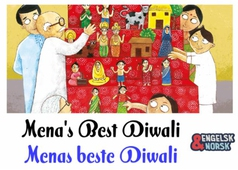 Meenas beste Diwali Hindi-norsk