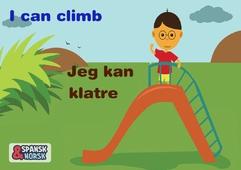Jeg kan klatre Spansk-norsk