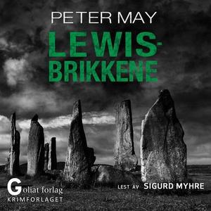 Lewisbrikkene (lydbok) av Peter May