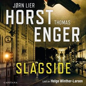 Slagside (lydbok) av Jørn Lier Horst, Thomas