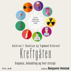 Kreftgåten (lydbok) av Kathrine F. Vandraas,