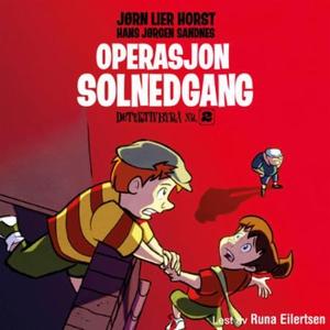 Operasjon Solnedgang (lydbok) av Hans Jørgen