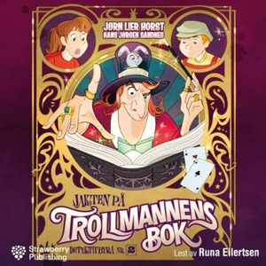 Jakten på trollmannens bok (lydbok) av Jørn L