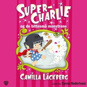Super-Charlie og de bittesmå monstrene (lydbo