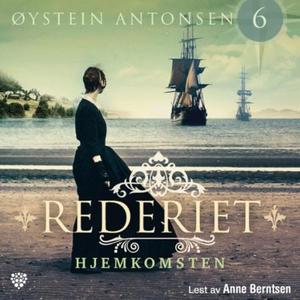 Hjemkomsten (lydbok) av Øystein Antonsen