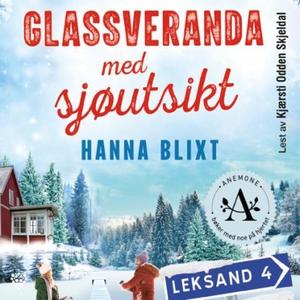 Glassveranda med sjøutsikt (lydbok) av Hanna