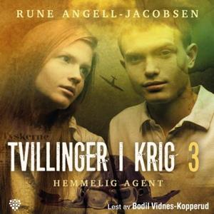 Hemmelig agent (lydbok) av Rune Angell-Jacobs