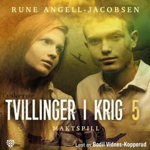 Maktspill (lydbok) av Rune Angell-Jacobsen