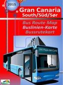 Gran Canaria south = Gran Canaria süd : Buslinien-Karte = Gran Canaria sør :  bussrutekart
