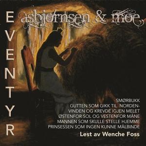 Asbjørnsen & Moe eventyr 1 (lydbok) av P. Chr