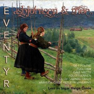Asbjørnsen & Moe eventyr 9 (lydbok) av P. Chr