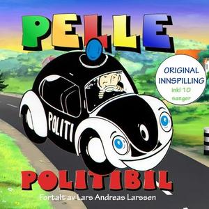 Pelle Politibil (lydbok) av Åge Magnussen, Le