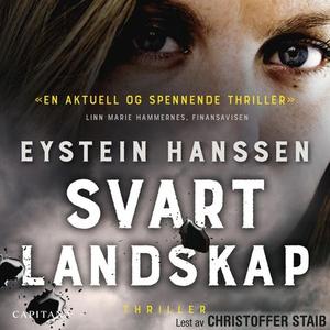 Svart landskap (lydbok) av Eystein Hanssen