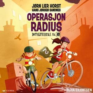 Operasjon Radius (lydbok) av Jørn Lier Horst