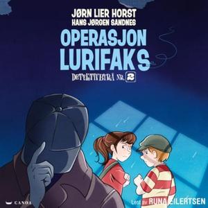 Operasjon Lurifaks (lydbok) av Jørn Lier Hors