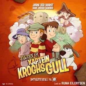 Jakten på kaptein Kroghs gull (lydbok) av Jør