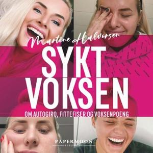 Sykt voksen (lydbok) av Martine Halvorsen