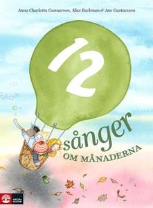 12 sånger om månaderna (e-bok) av Anna Charlott