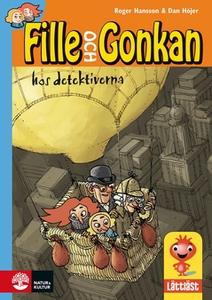 Fille och Gonkan hos detektiverna (e-bok) av Ro