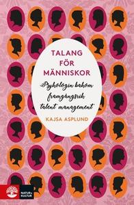 Talang för människor (e-bok) av Kajsa Asplund