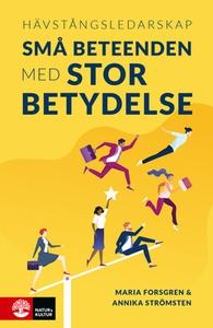 Hävstångsledarskap (e-bok) av Maria Forsgren, A
