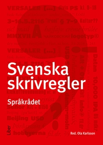 Svenska skrivregler (e-bok) av Språkrådet