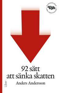 92 sätt att sänka skatten (e-bok) av Anders And