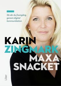 Maxa snacket (e-bok) av Karin Zingmark