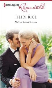 Natt med konsekvenser (ebok) av Heidi Rice