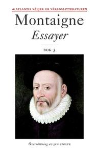 Essayer. Bok 3 (e-bok) av Michel de Montaigne