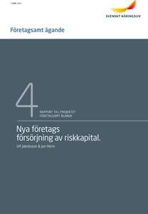Nya företags försörjning av riskkapital (e-bok)