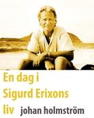 En dag i Sigurd Erixons liv