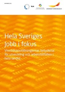 Hela Sveriges jobb i fokus (e-bok) av  Svenskt