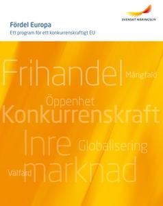 Fördel Europa - ett program för ett konkurrensk