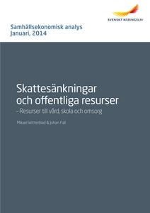 Skattesänkningar och offentliga resurser - resu