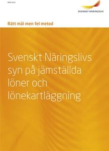 Rätt mål men fel metod (e-bok) av  Svenskt Näri