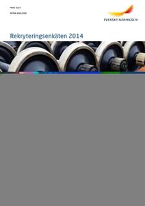 Rekryteringsenkäten 2014 (e-bok) av  Svenskt Nä