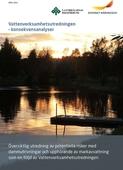 Vattenverksamhetsutredningen - konsekvensanalyser