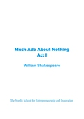 Much Ado About Nothing Act 1