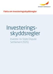 Fakta om investeringsskyddsregler ISDS (e-bok)