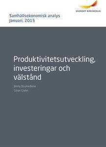 Samhällsekonomisk analys Januari 2015 (e-bok) a
