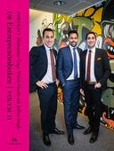 Porträtt Aleksandar Goga, Vishal Nanda och Jeffrey Singh