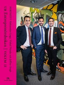 Porträtt Aleksandar Goga, Vishal Nanda och Jeff