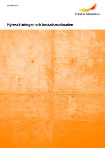 Hyressättningen och bostadsmarknaden (e-bok) av