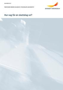 Hur vag får en skattelag va? (e-bok) av Svenskt